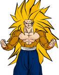 SSJ5 Goku Colored