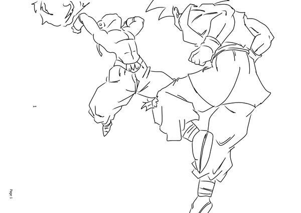 DBUC Goku VS Kid Buu By Darkhawk5 On DeviantArt