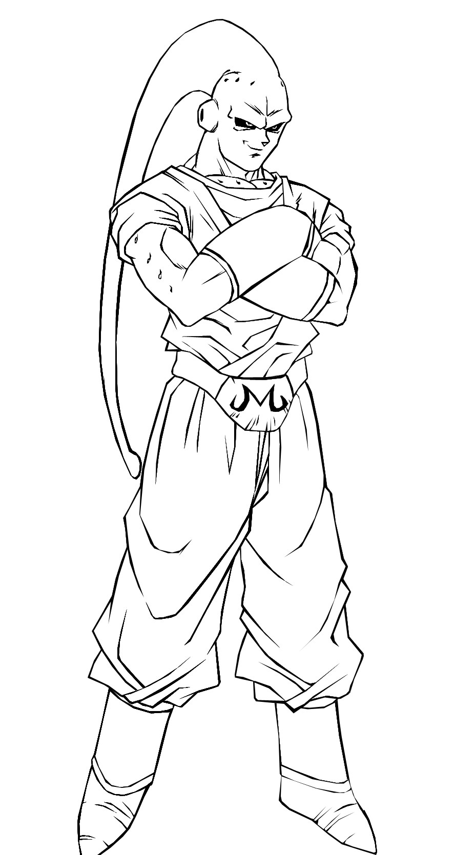 dragonball z buu coloring pages - photo#20