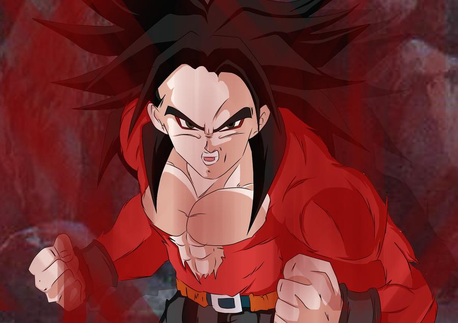 Super Saiyan 4 Trunks by darkhawk5Kid Trunks Super Saiyan 5
