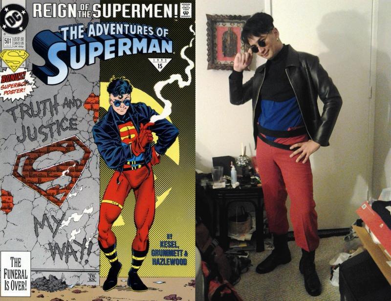 90's Superboy Cosplay W.I.P. by darkhawk5