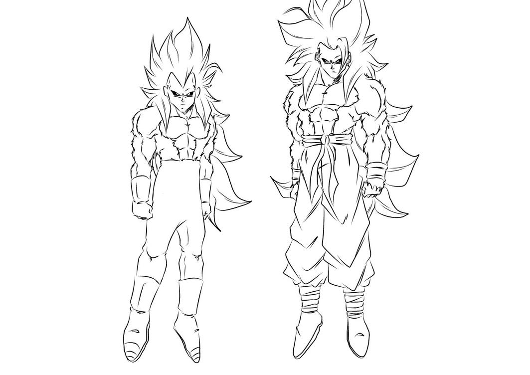 Ssj4 Gogeta Coloring Pages: Vegeta Ssj2 Coloring Pages Coloring Coloring Pages
