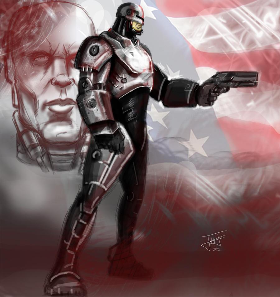 Robocop USA by JordanMichaelJohnson on DeviantArt