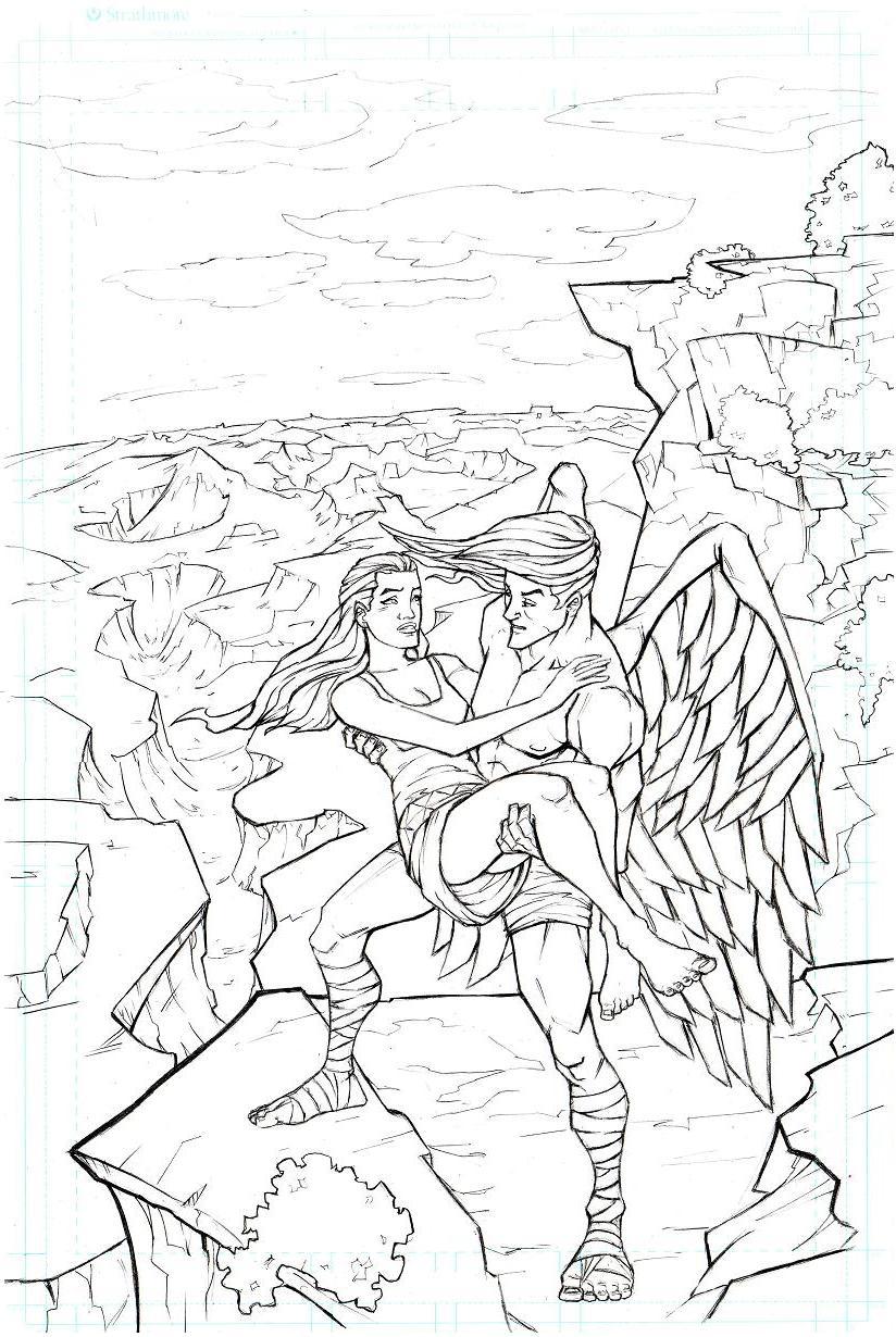 angel redraw by JordanMichaelJohnson