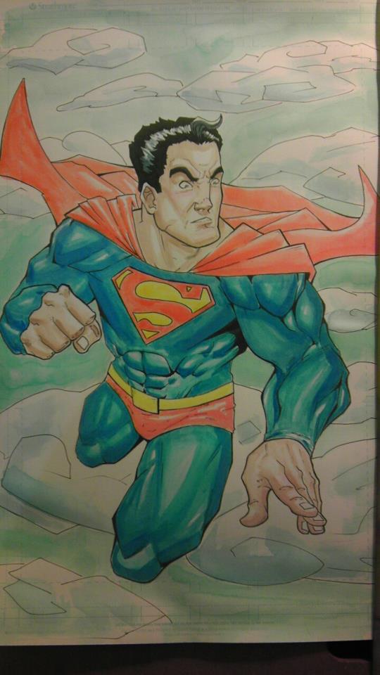 Superman by JordanMichaelJohnson