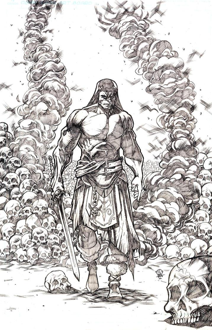 Conan The Barbarian by JordanMichaelJohnson