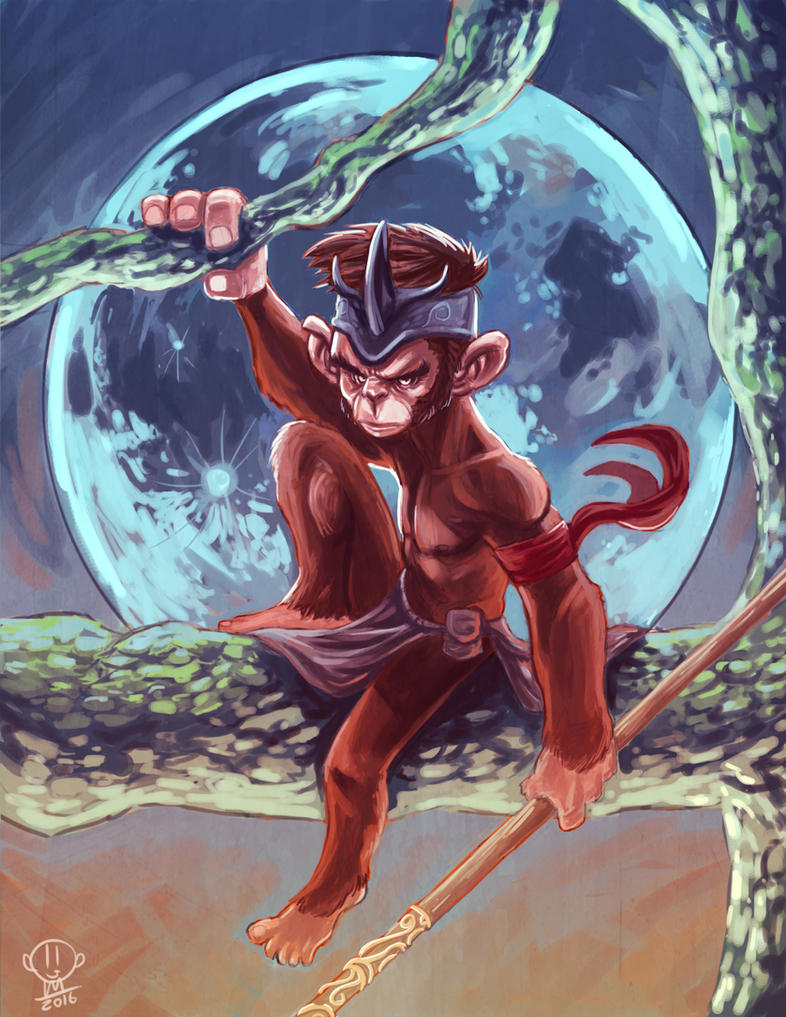 Monkey King by JordanMichaelJohnson