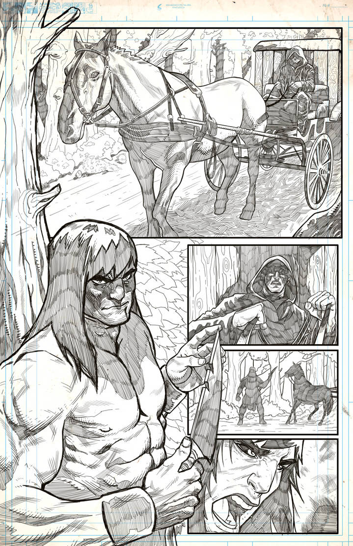 Conan And Druid Page 1