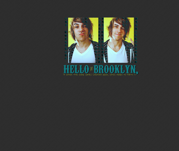 Hello Brooklyn Wallpaper By Ashkaboodle