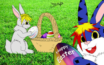 Happy easter 2014 by DMCfurry