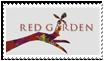 Red Garden stamp by JillValentine89