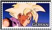 Gohan Stamp by JillValentine89