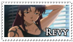 Revy stamp by JillValentine89