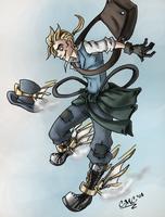 Steampunk'd: Hermes by JillValentine89