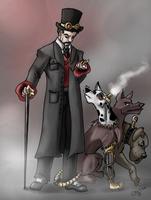Steampunk'd: Hades.Cerberus by JillValentine89