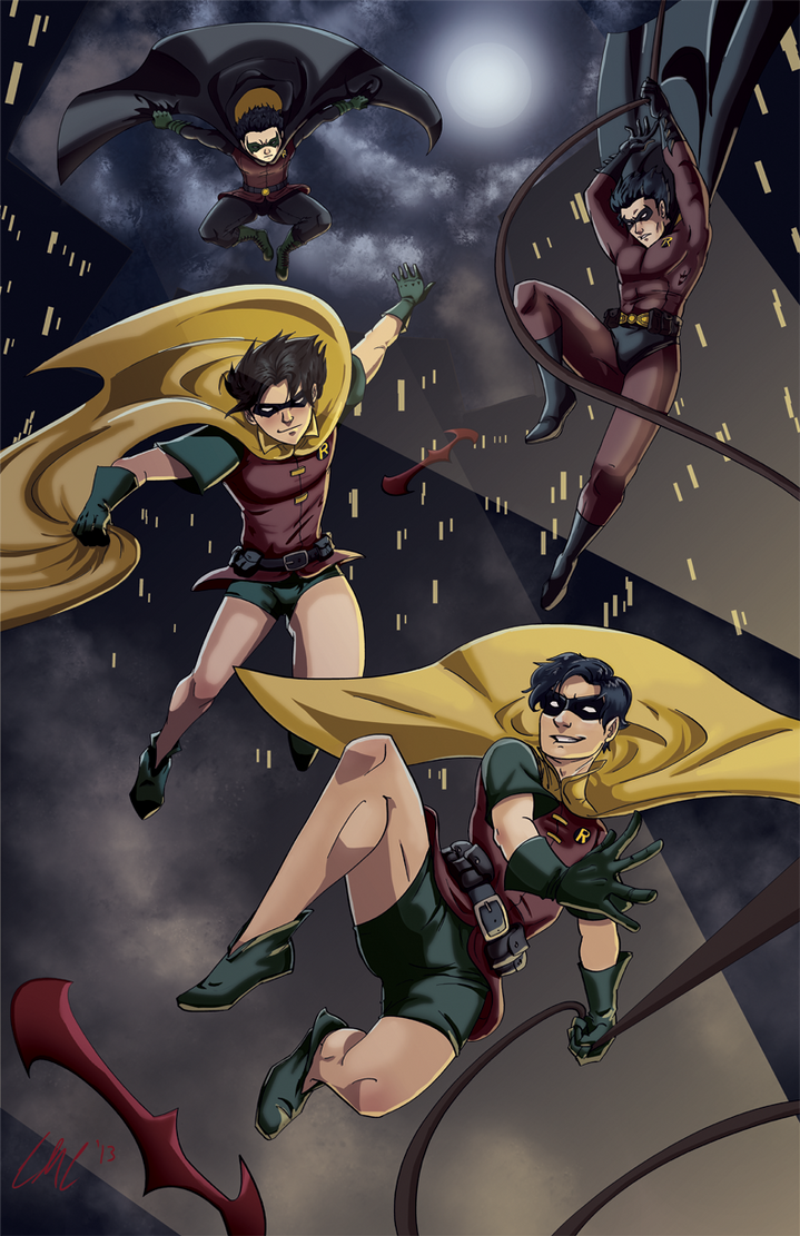 Robin Legacy by JillValentine89