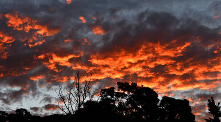 Fire in the Sky by xjames7