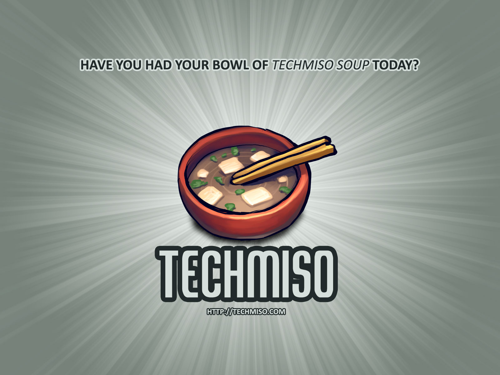 TechMiso Wallpaper - Dark