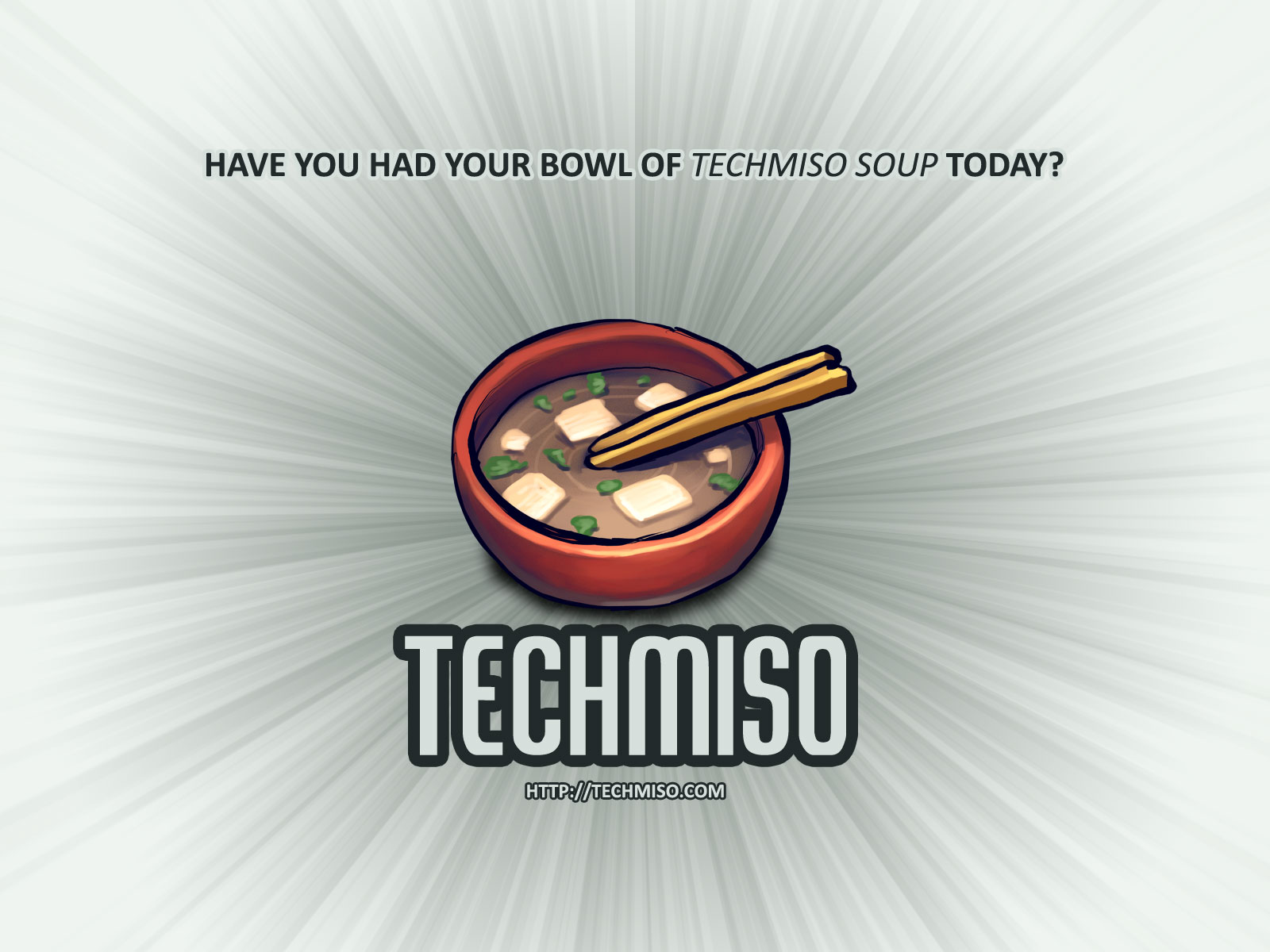 TechMiso Wallpaper - Light by jark