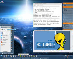Yellow Alien Desktop