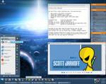 Yellow Alien Desktop
