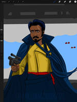 Star Wars Day 2018 Lando by williamcookart