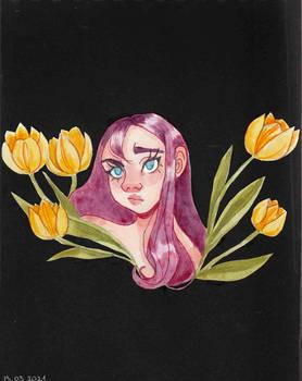 Beetroot girl