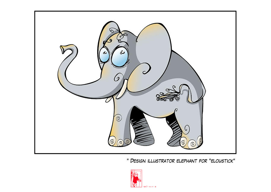 Elephant For eloustick by Vielo