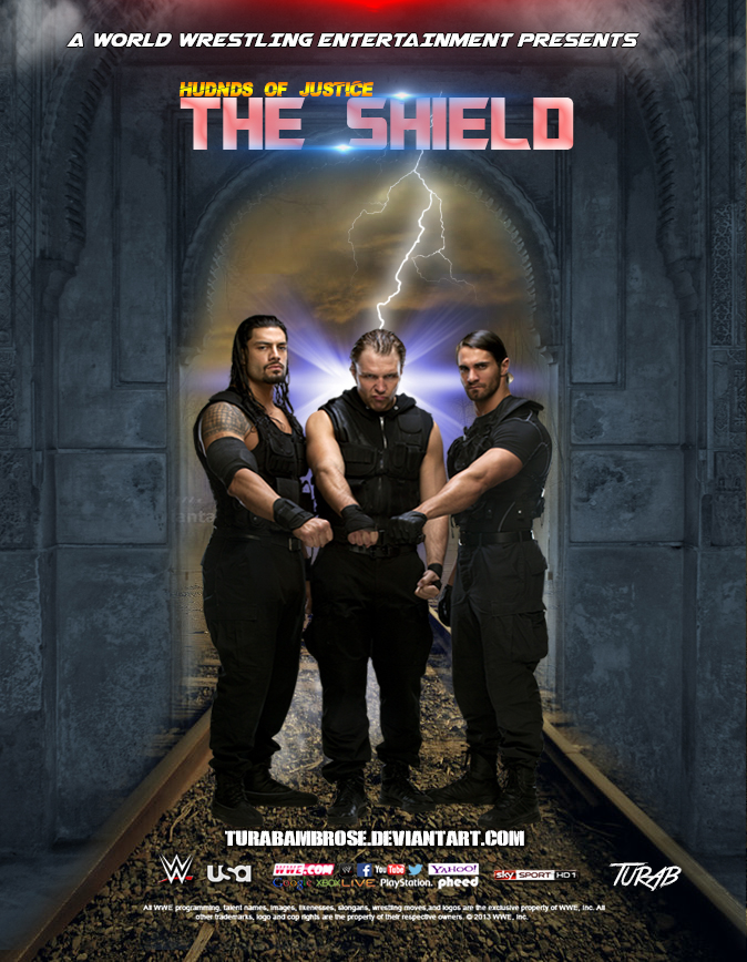 wwe the shield wallpaper by turabambrose on deviantart