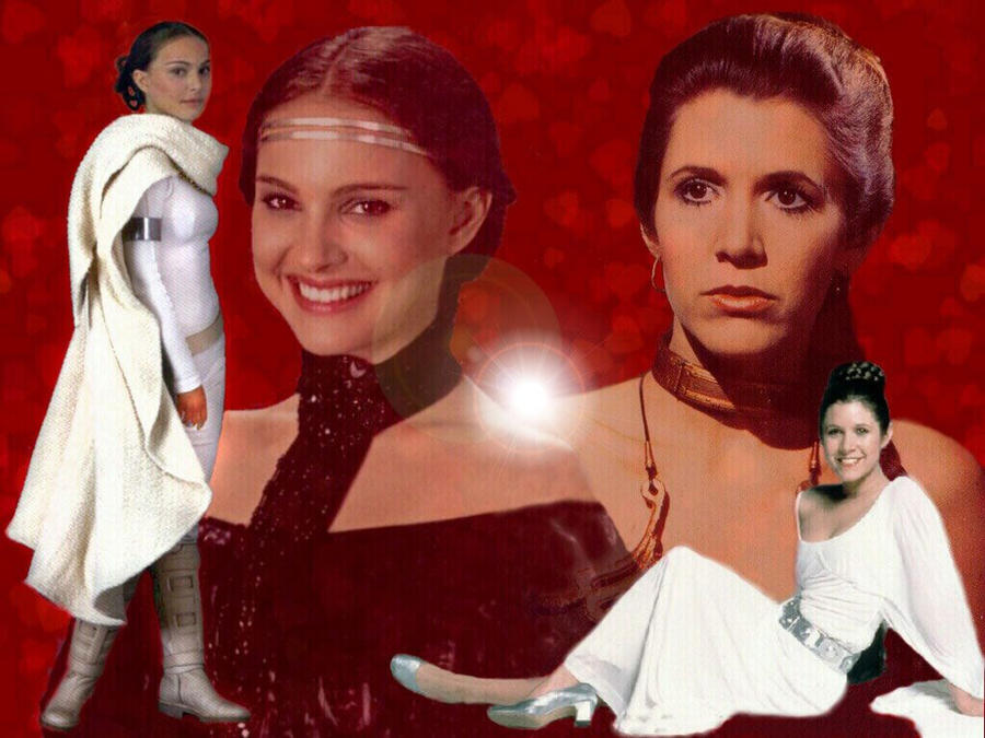 leia and padme by AqUeto on DeviantArt