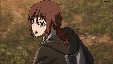 Shingeki no Kyojin - Ymir see Dina - Fake Screensh