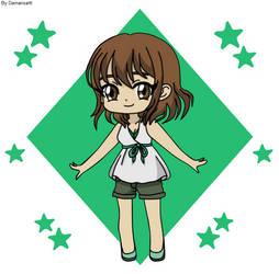 Fairy Tail OC - Alexia Chibi