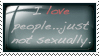 I Love...Stamp by SilverSugar