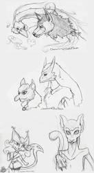 Surprise Pokemon Sketches