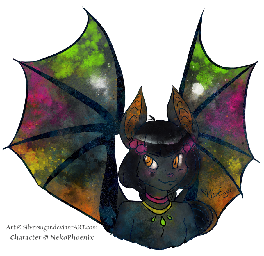 Art Trade: Batterfly by SilverSugar