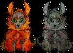 [Open Auction] Rachibit: The Twins by SilverSugar