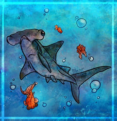 Sharky Fish by SilverSugar