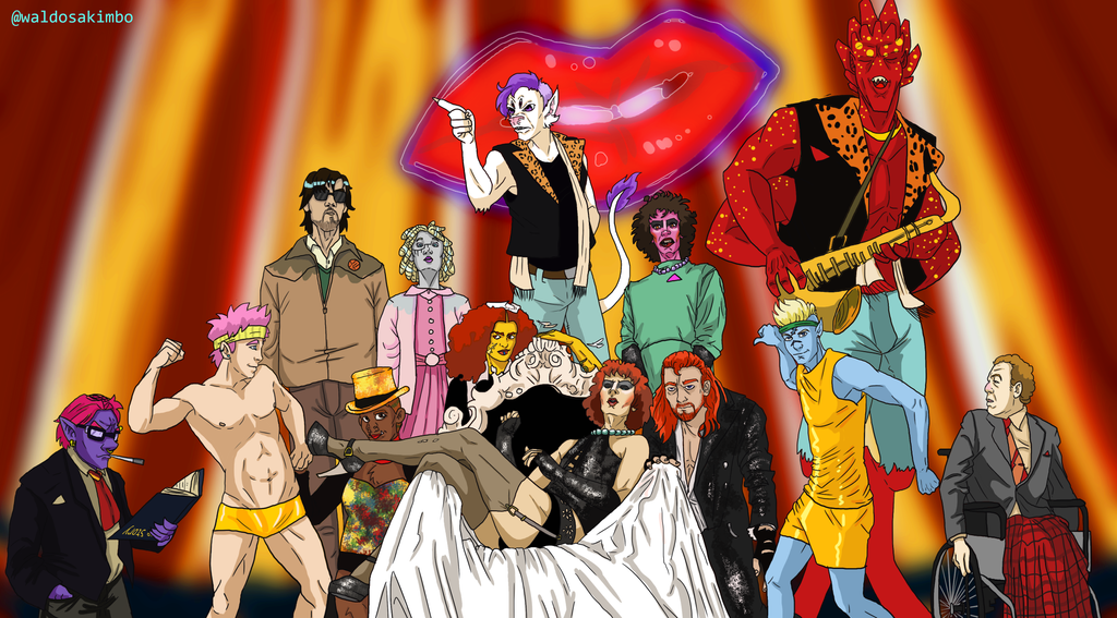 Rocky Horror Ravagers by krazykavumaster