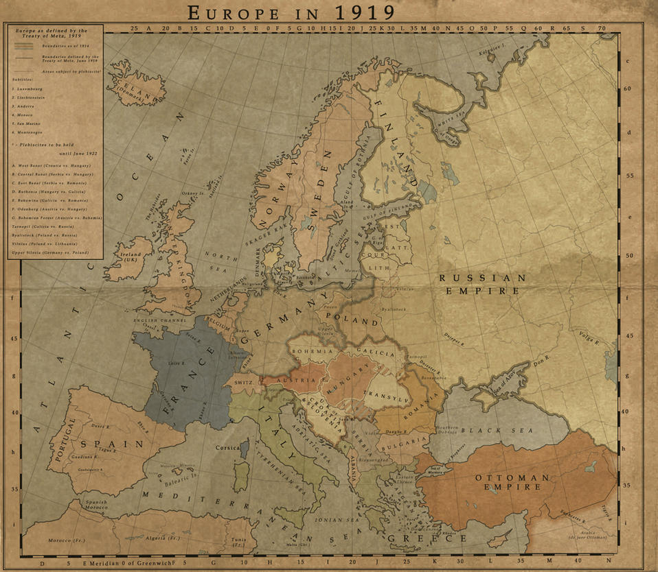 Europe at 1919 by MarcosCeia on DeviantArt