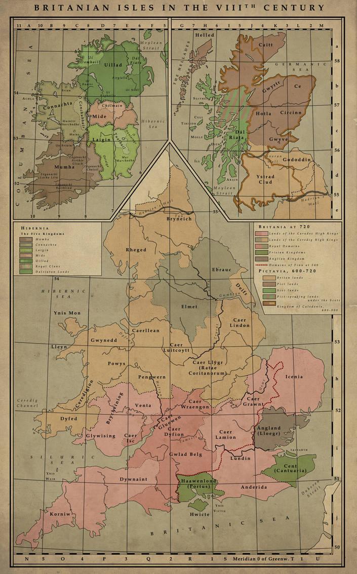 British Isles, 8th Century