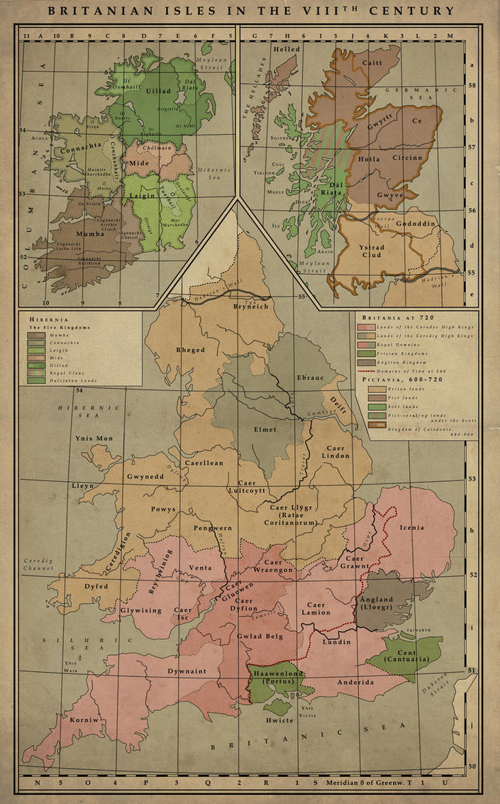 British Isles, 8th Century by MarcosCeia