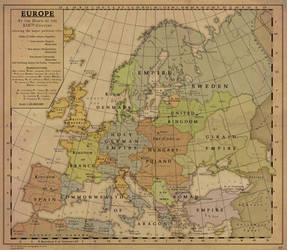 Europe, end of XIXth Century
