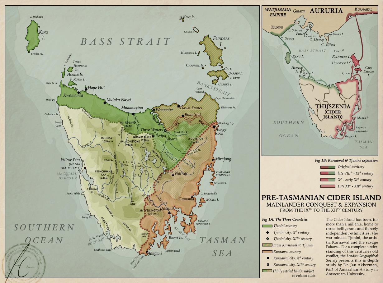 Lands of Red et Gold: Tasmania by MarcosCeia on DeviantArt