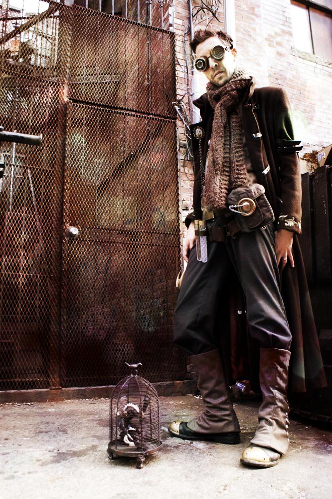Steampunk Goblinologist by brassgoblin