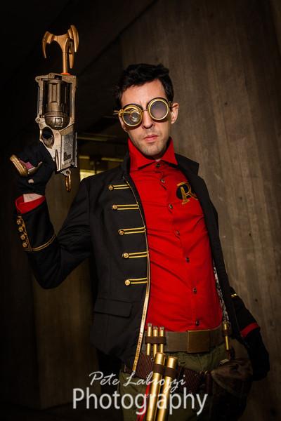 Steampunk Robin by brassgoblin