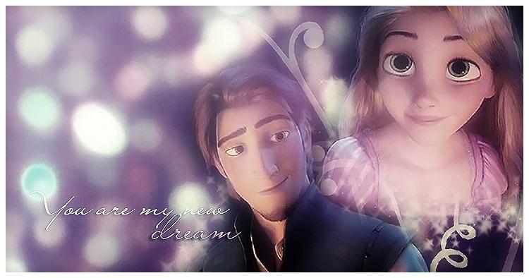 Flynn And Rapunzel By Dangerous Glow