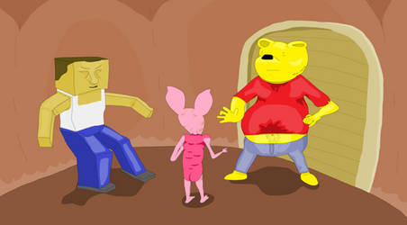 Winnie the pooh rapes Piglet PART 1 by Sikojensika