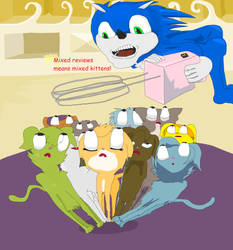 Better like the Sonic movie or the kittens get it by Sikojensika