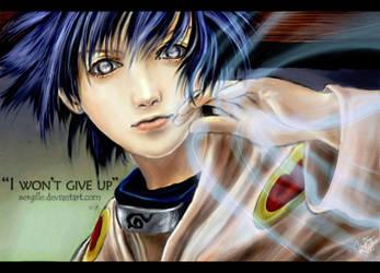 Hinata's Determination by Xergille