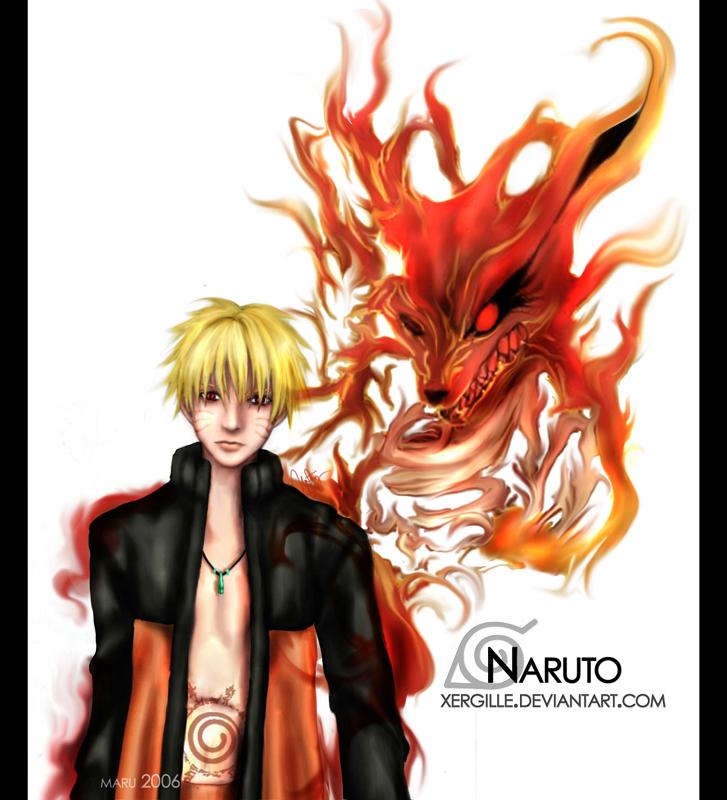 naruto and dragon